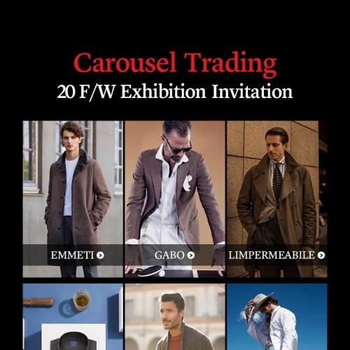 Carousel Trading 20 F/W Exhibition Invitation 앨범 바로가기