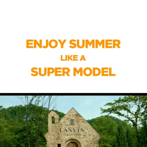 LANVIN ENJOY SUMMER LIKE A SUPER MODEL 앨범 바로가기