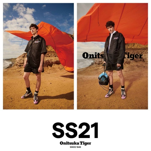 ONITSUKATIGER 2021 S/S COLLECTION 앨범 바로가기