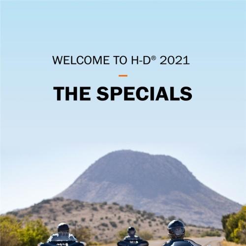 HARLEY-DAVIDSON WELCOME TO H-D 2021 앨범 바로가기